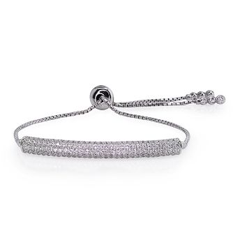 Carat Millennium Brilliants sterling silver slider bracelet - Product number 3095061