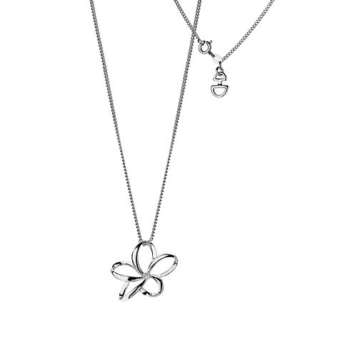 Hot Diamonds Ladies' Sterling Silver Open Petal Pendant - Product number 3131149