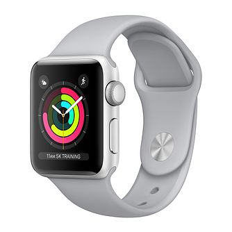 Apple Watch Series 3 38mm Silver Case with Fog Sport Band - Product number 3156796