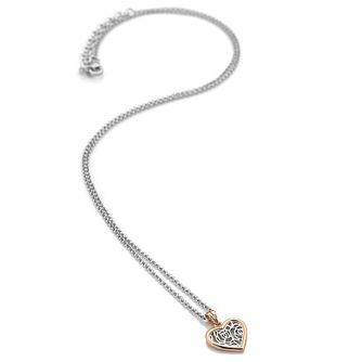 Hot Diamonds Ladies' Rose Gold Plated Faith Pendant - Product number 3181421