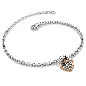 Hot Diamonds Ladies' Rose Gold Plated Faith Bracelet - Product number 3182177