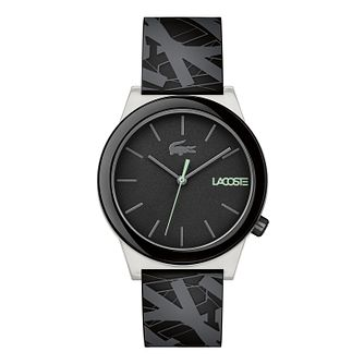 Lacoste Men's Black Silicone Strap Watch - Product number 3186598