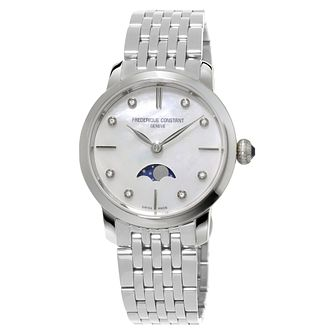 Frederique Constant Slimline Ladies' Mother of Pearl Watch - Product number 3321762