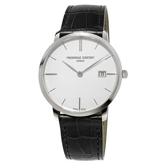 Frederique Constant Slimline Men's Steel Strap Watch - Product number 3321819