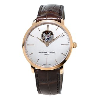 Frederique Constant Heartbeat Men's Rose Gold Plated Watch - Product number 3322408