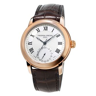 Frederique Constant Classics Men's Rose Gold Plated Watch - Product number 3322432