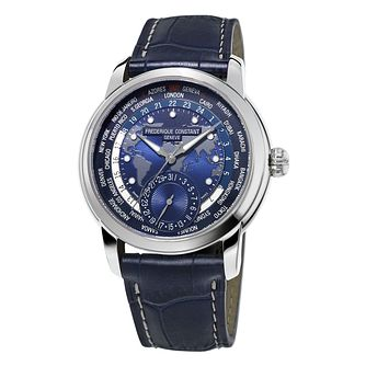 Frederique Constant Manufacture Men's World Time Watch - Product number 3322459