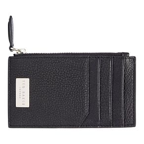 Ted Baker Snapps Men's Black Leather Card Holder - Product number 3372200