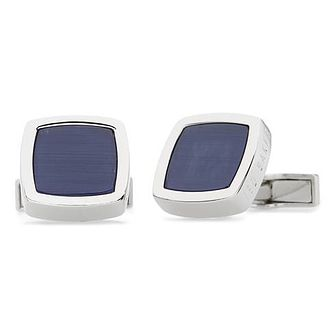 Ted Baker Dedlift Men's Brass Blue Cufflinks - Product number 3372413
