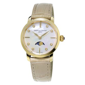 Frederique Constant Slimline Ladies' Diamond Watch - Product number 3417832
