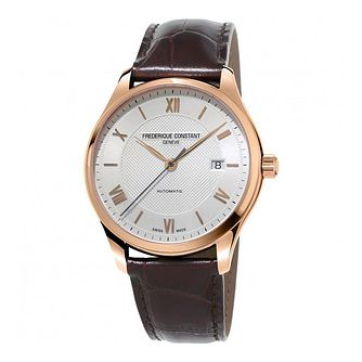 Frederique Constant Classics Men's Rose Gold Plated Watch - Product number 3417883