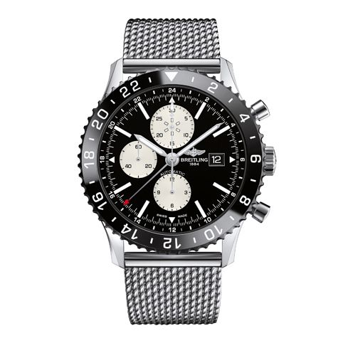 Breitling Chronoliner men's stainless steel bracelet watch - Product number 3426424