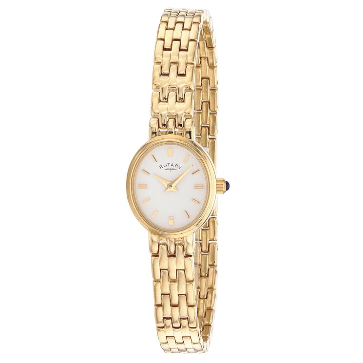 Rotary Ladies' Gold-Plated Bracelet Watch - Product number 3427625