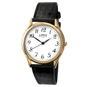 Limit Ladies' Black Strap Watch - Product number 3445291