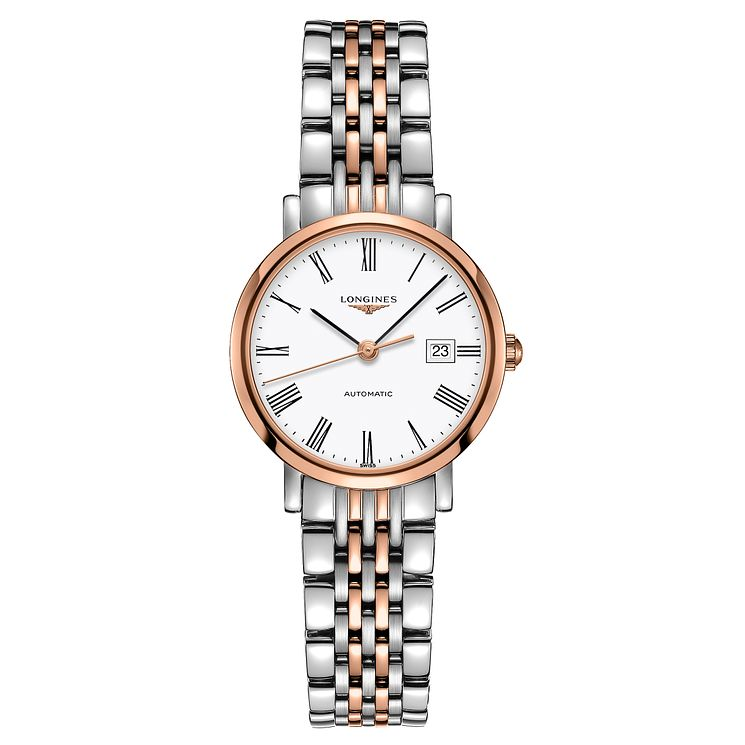 Longines ladies' two colour white bracelet watch - Product number 3448231