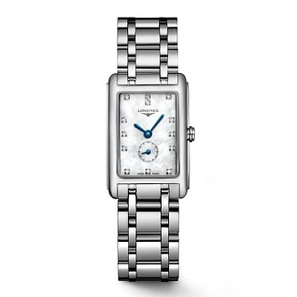 Longines DolceVita Ladies' Diamond Mother of Pearl Watch - Product number 3448371