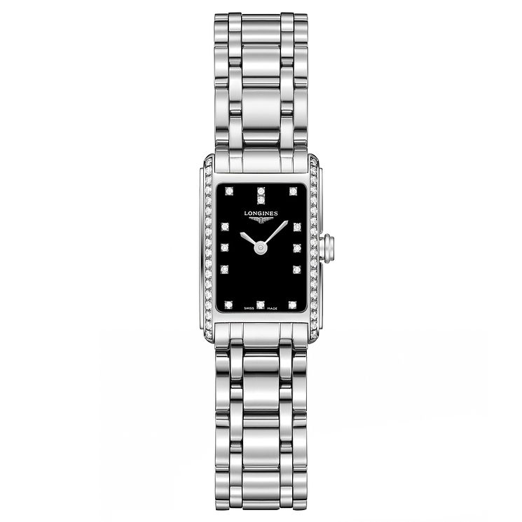Longines Dolcevita ladies' stainless steel bracelet watch - Product number 3448398