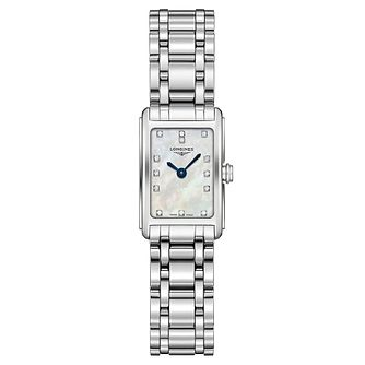 Longines DolceVita Ladies' Diamond Mother of Pearl Watch - Product number 3448479