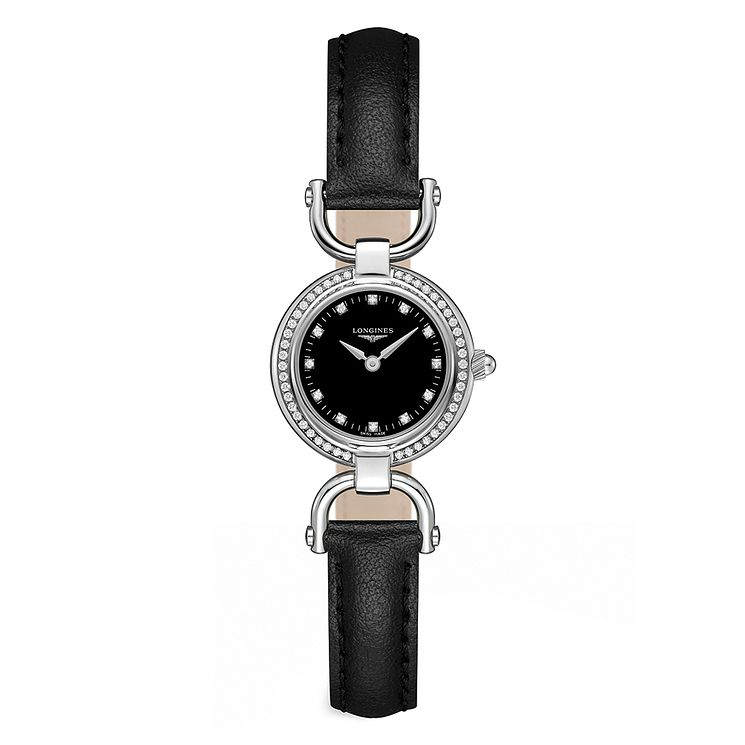 Longines Equestrian Ladies' Stainless Steel Strap Watch - Product number 3448533