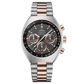 Omega Speedmaster Mark II men's two colour bracelet watch - Product number 3450988