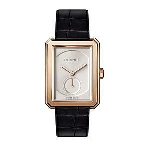 Chanel Ladies' 18ct Rose Gold Rectangle Bracelet Watch Large - Product number 3451720