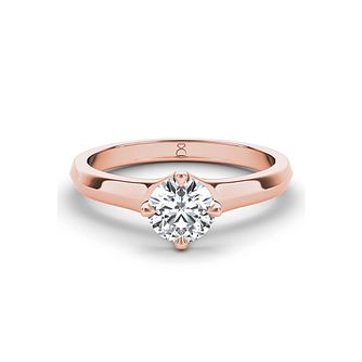 The Diamond Story 18ct rose gold 1/4ct diamond ring - Product number 3453367