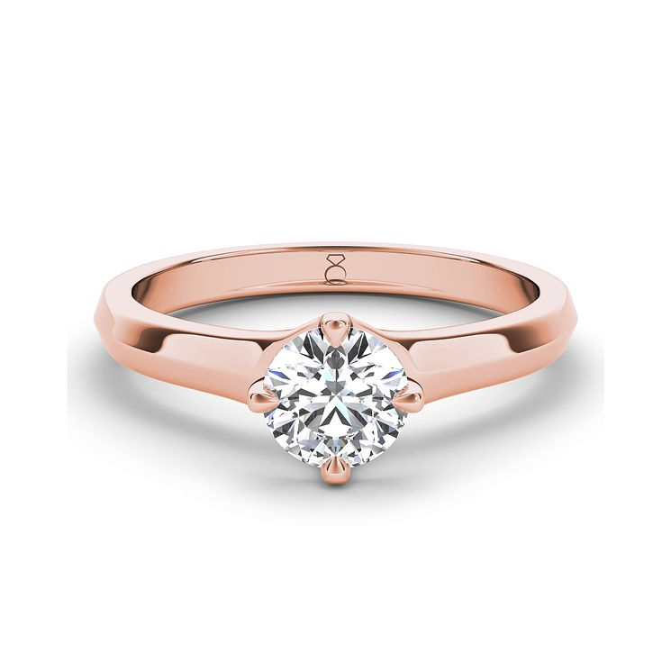The Diamond Story 18ct rose gold 0.50ct diamond ring - Product number 3453669