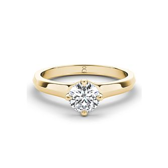 The Diamond Story 18ct yellow gold 1/4ct diamond ring - Product number 3456455