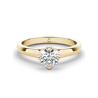 The Diamond Story 18ct yellow gold 1/3ct diamond ring - Product number 3456803