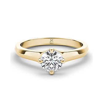 The Diamond Story 18ct yellow gold 1/2ct diamond ring - Product number 3457141
