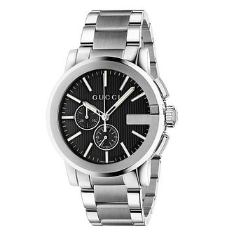 Gucci G-Chrono men's stainless steel bracelet watch - Product number 3460452