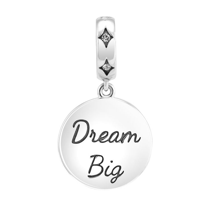 Chamilia dream big moonlight crystal silver charm - Product number 3465217
