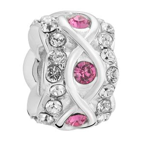 Chamilia luxe rose crystal sterling silver charm - Product number 3465446