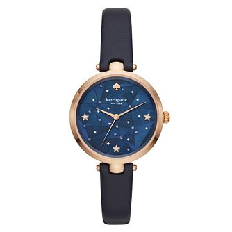 Kate Spade Holland Ladies' Rose Gold Plated Strap Watch - Product number 3466418