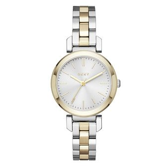 DKNY Ellington Ladies' Two Colour Bracelet Watch - Product number 3467899