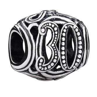 Chamilia 30 milestone sterling silver charm - Product number 3471039