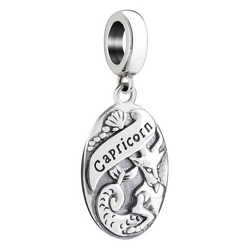 Chamilia Sterling Silver Capricorn Zodiac Bead - Product number 3472876
