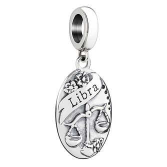 Chamilia Sterling Silver Libra Zodiac Bead - Product number 3472965