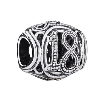 Chamilia Sterling Silver Filigree 18 Milestone Charm - Product number 3473503