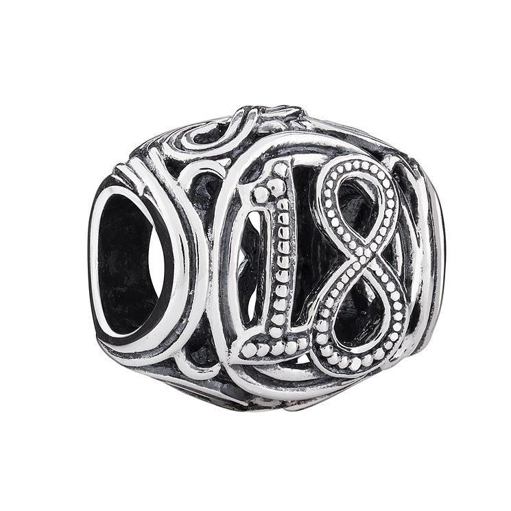 Chamilia Sterling Silver Filigree 18 Milestone Bead - Product number 3473503