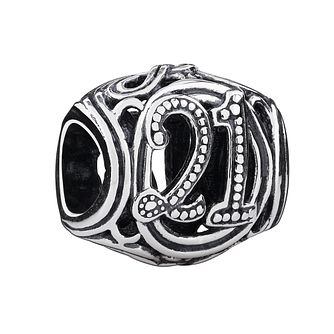 Chamilia Sterling Silver Filigree 21 Milestone Charm - Product number 3473511