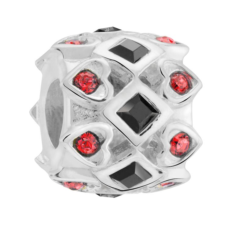 Chamilia Swarovski Crystal Queen Of Hearts Spacer Bead - Product number 3475867