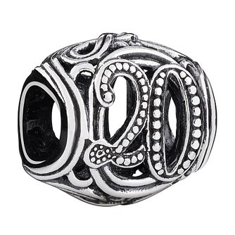 Chamilia Sterling Silver Filigree 20 Milestone Charm - Product number 3476499
