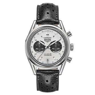TAG Heuer Carrera men's stainless steel strap watch - Product number 3477053