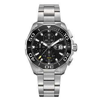 TAG Heuer Aquaracer Men's Stainless Steel Bracelet Watch - Product number 3477320