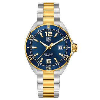 TAG Heuer Formula 1 men's two colour bracelet watch - Product number 3479153