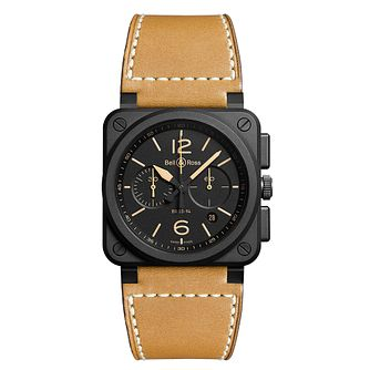 Bell & Ross BR0394 black strap watch - Product number 3480984