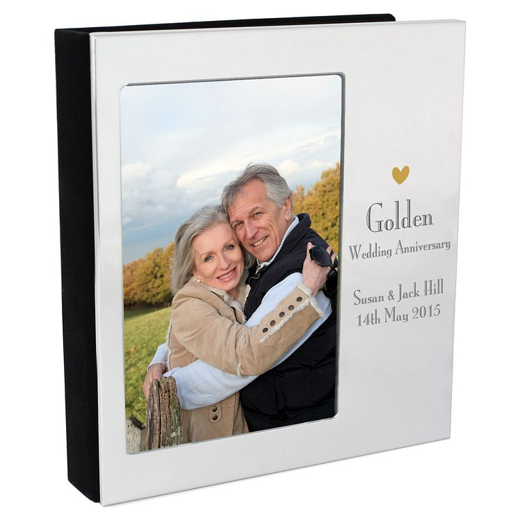 Decorative Golden Anniversary 6x4 Photo Album - Product number 3487172