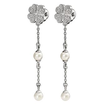Folli Follie Eternal Heart silver plated earrings - Product number 3513033