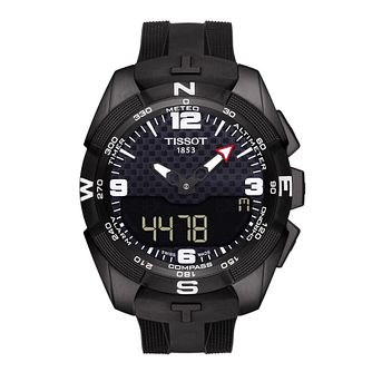 Tissot T-Touch men's ion-plated black strap watch - Product number 3517489